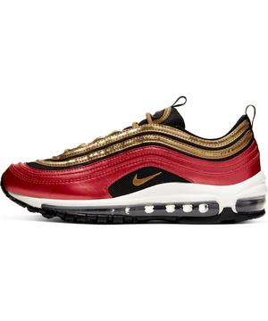 Nike Air Max 97 Leopard Pack Red Black BV6113 001 Women's
