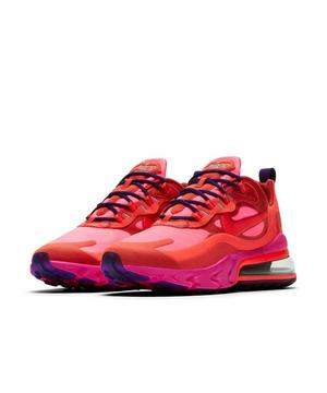 Nike Air Max 270 React Mystic Red Bright Crimson Pink Blast Women S Shoe Hibbett City Gear