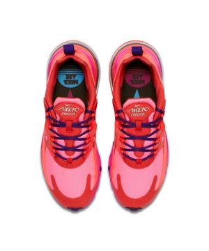 Nike Air Max 270 React Mystic Red Bright Crimson Pink Blast