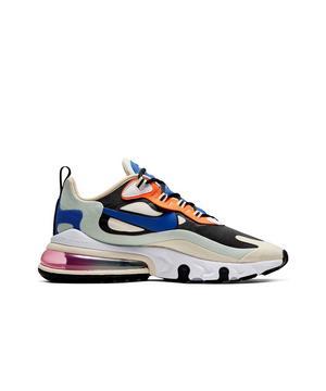 Nike Air Max 270 React Fossil Hyper Blue Women S Shoe Hibbett