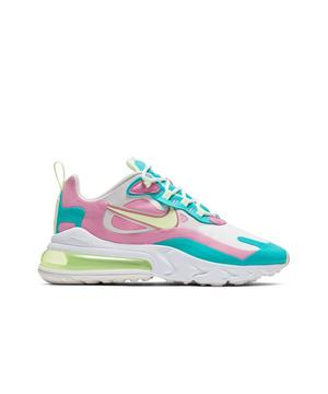 Nike Air Max 270 React White Volt Pink Teal Women S Shoe