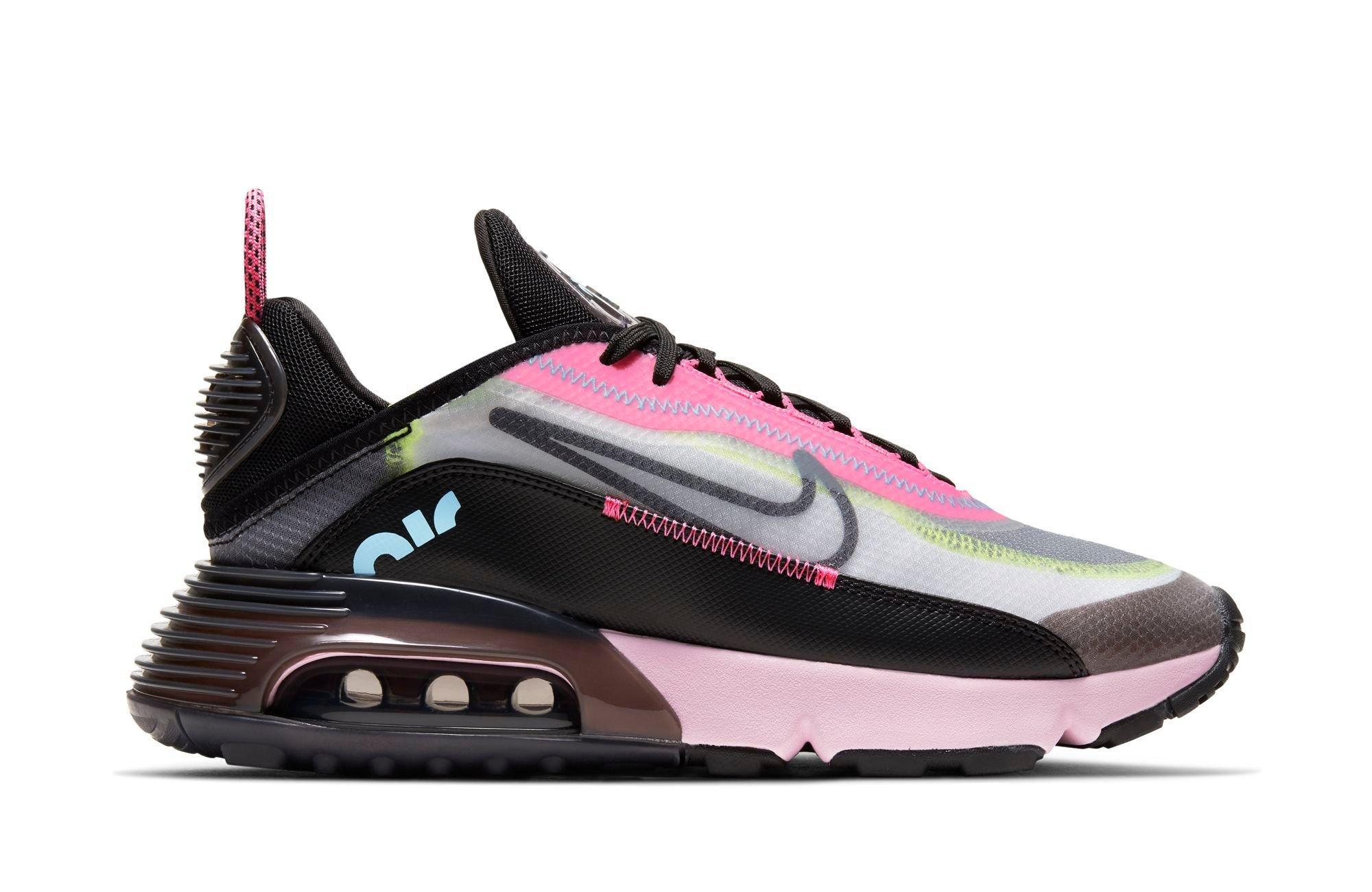 Nike AIR MAX 2090 WOMENS White/Black/Pink Foam/Lotus Pink
