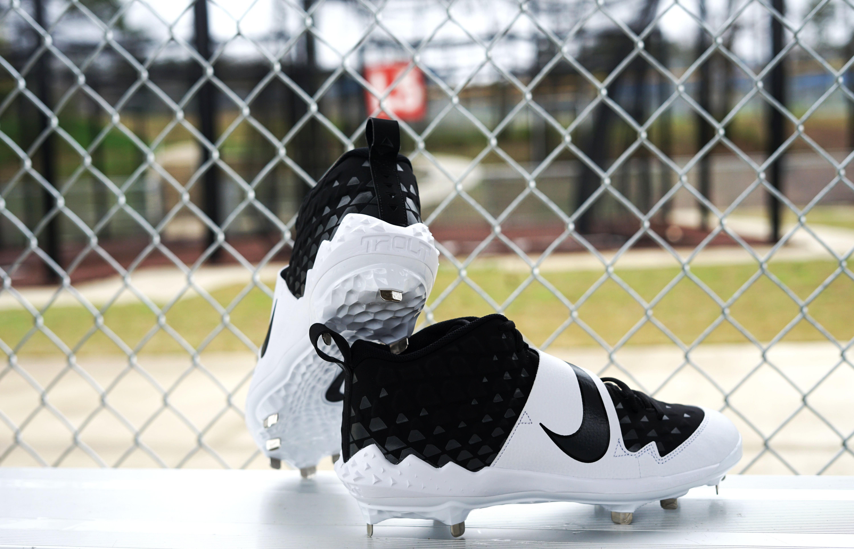 "Nike Force Trout 6 Pro MCS ""Black/White"" Grade School Kids' Baseball Cleat"
