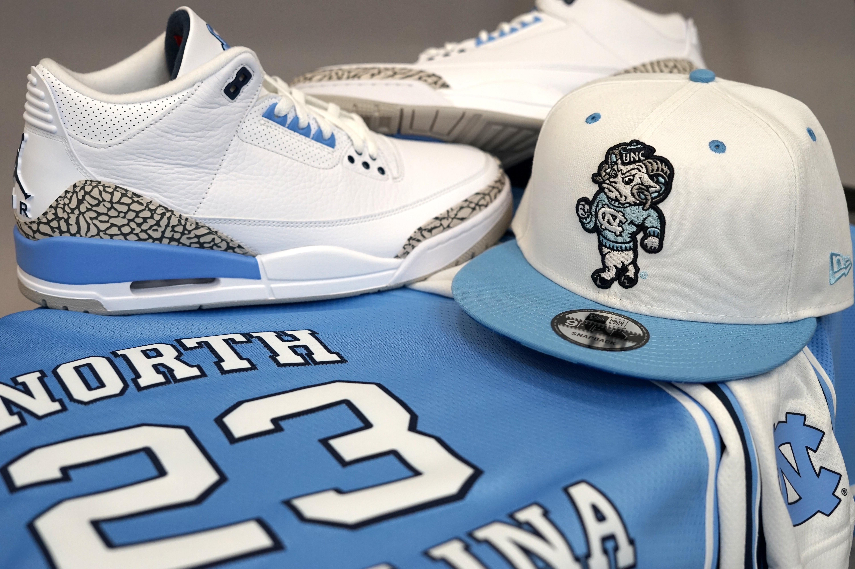 "Sneakers Release – Jordan 3 Retro ""UNC"" White/Valor Blue/Tech Grey ..."