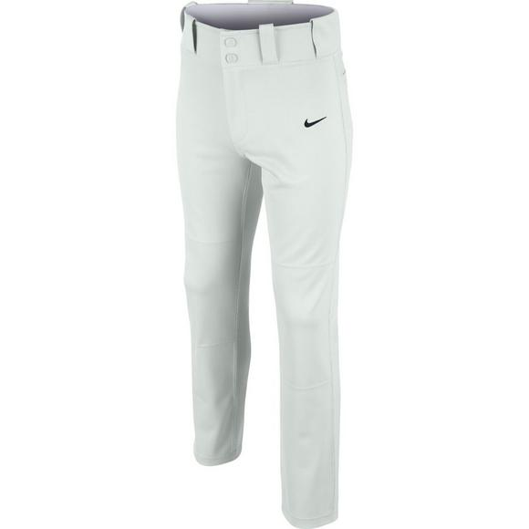 Sporting Goods Gray Nike Baseball Pants Youth Large Full Length Dri-fit Some Stain