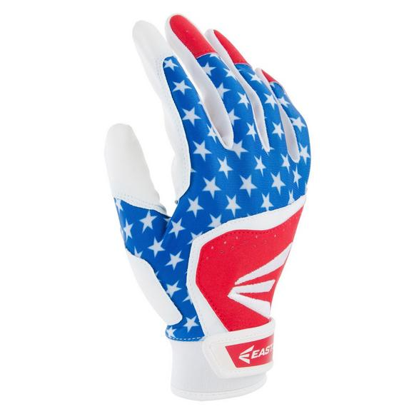 1df87cebef1 Easton Youth Patriotic Baseball Batting Glove - Main Container Image 1