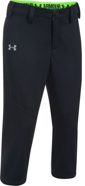under armour pants for girls. under armour girls\u0027 base runner softball pants - main container image 1 for girls r