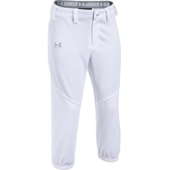 Under Armour Girls' Base Runner Softball Pants Hibbett