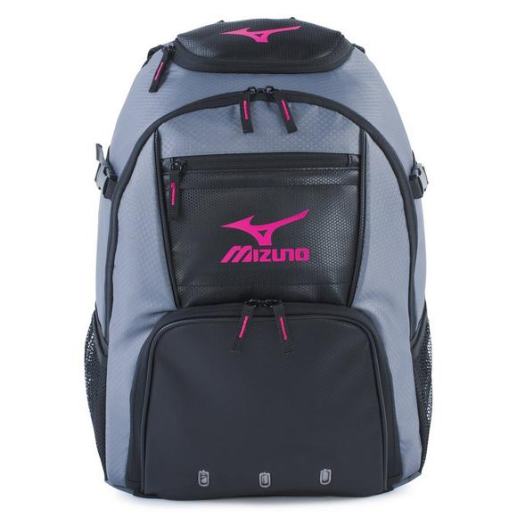 Mizuno Organizer G4 Backpack Grey Pink - Main Container Image 1 4ea96278ae