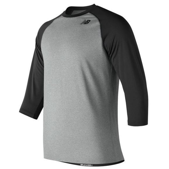 47b62459 New Balance Men's 3/4 Baseball Raglan Shirt - Main Container Image 1