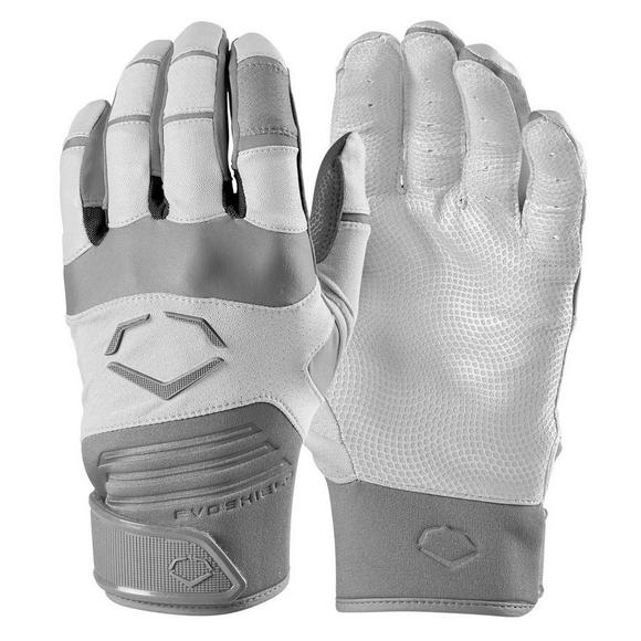 07a1b44c90 EvoShield Youth Aggressor White Batting Gloves - Main Container Image 1