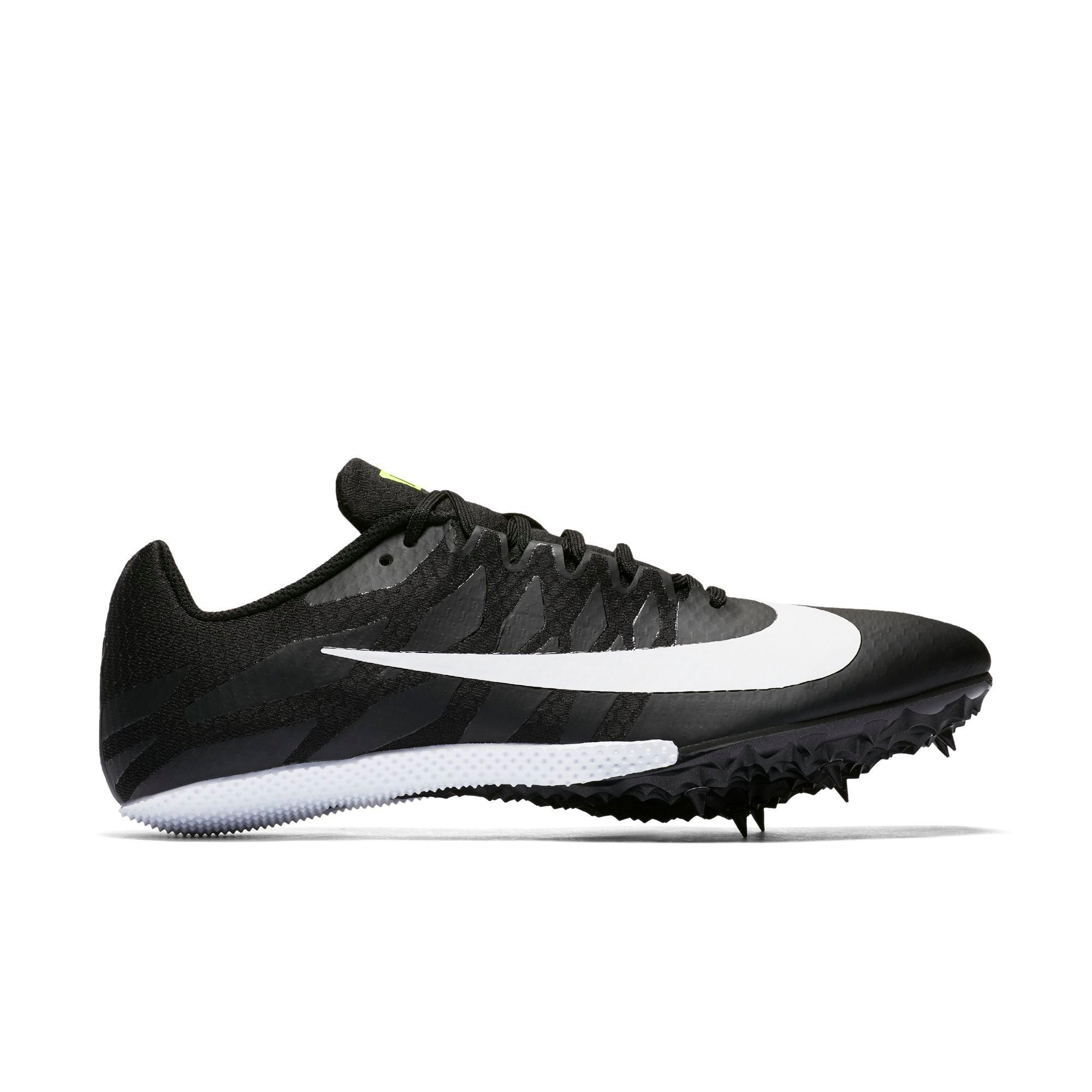 online store a08e8 4d565 nike zoom track spikes black and white Womens ...