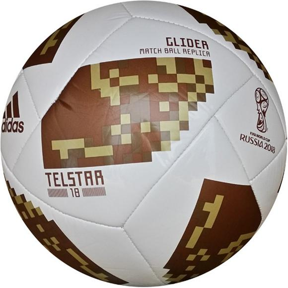 759a12ffa ... czech adidas 2018 world cup glider soccer ball gold metallic main  container image 1 d9db2 77b26