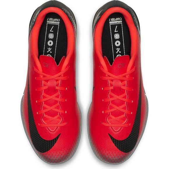8407c3575b1338 Nike CR7 VaporX 12 Academy IC Grade School Kids' Indoor Soccer Shoe ...