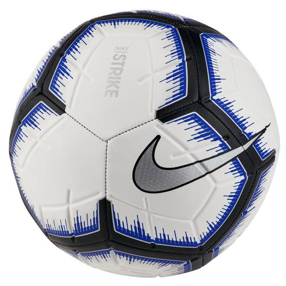 d31246005c0 Nike Strike White/Blue/Silver Soccer Ball - Main Container Image 1