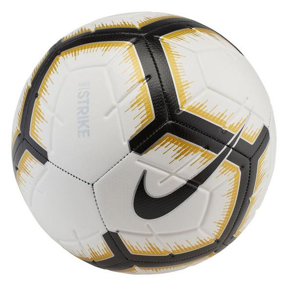 76e33f65ffe Nike Strike Size 5 Soccer Ball White/Black/Gold 2019 - Main Container Image