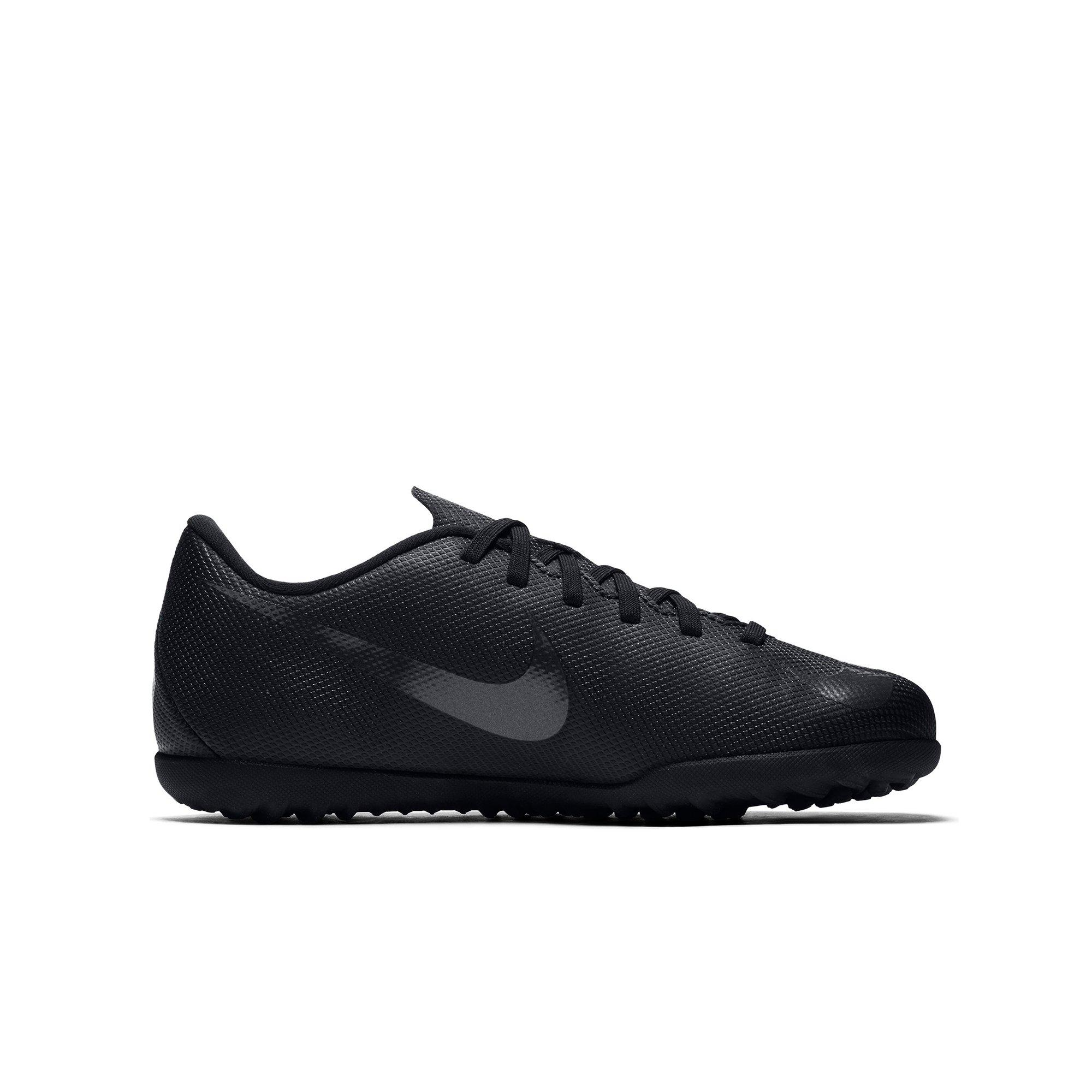 Black And White Nike Indoor Soccer Shoes Kids Sportcamp