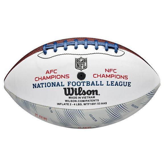 6e60a1dc3f7 Wilson Super Bowl LIII Mini Autograph Football - Main Container Image 2