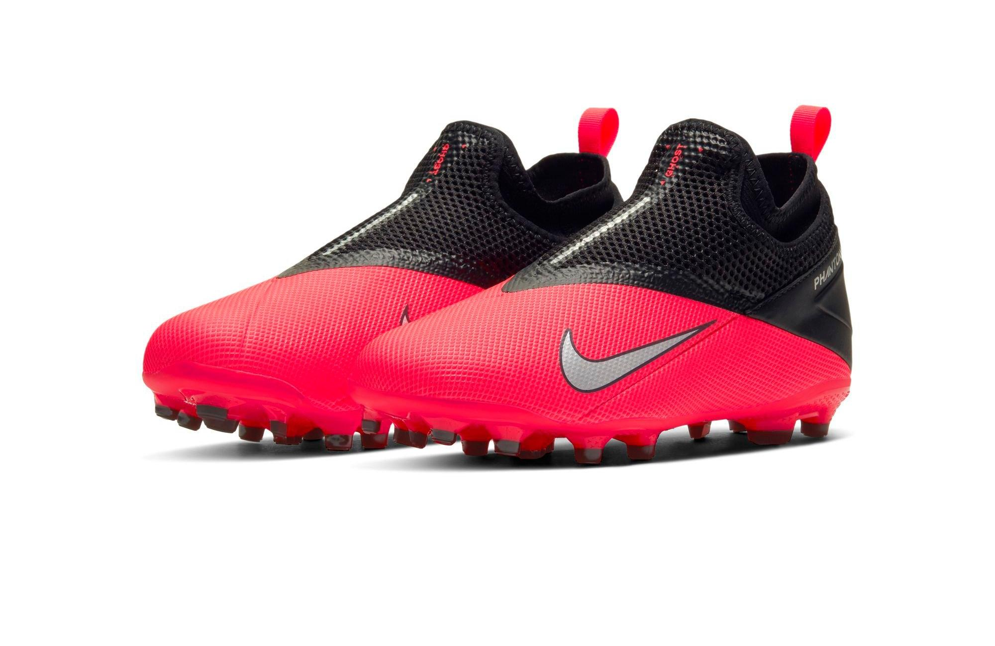 Nike Phantom Vision 2 Academy DF FG Grade School Kids' Soccer Cleat