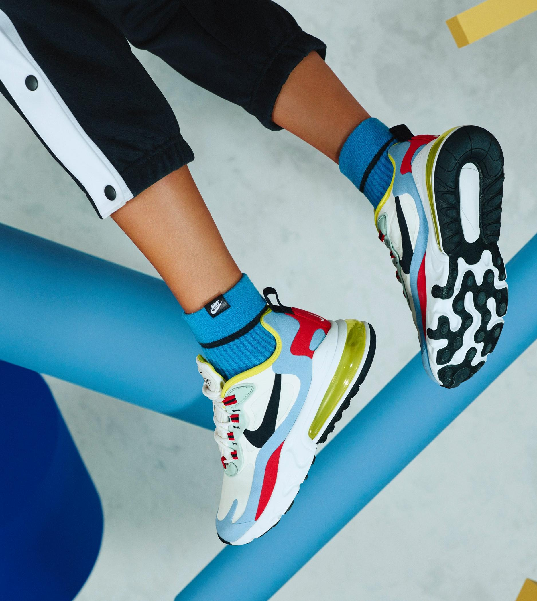 Sneaker Release Nike Air Max 270 React Phantom Light Blue