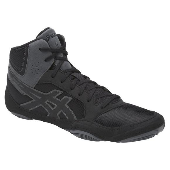 new release new season cheap for discount Asics Snapdown 2 Mens Wrestling Shoe Black