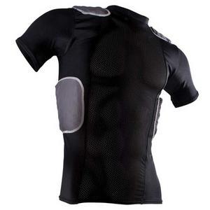 74a752cc Cramer Lightning Youth Padded Protective Football Shirt Black ...
