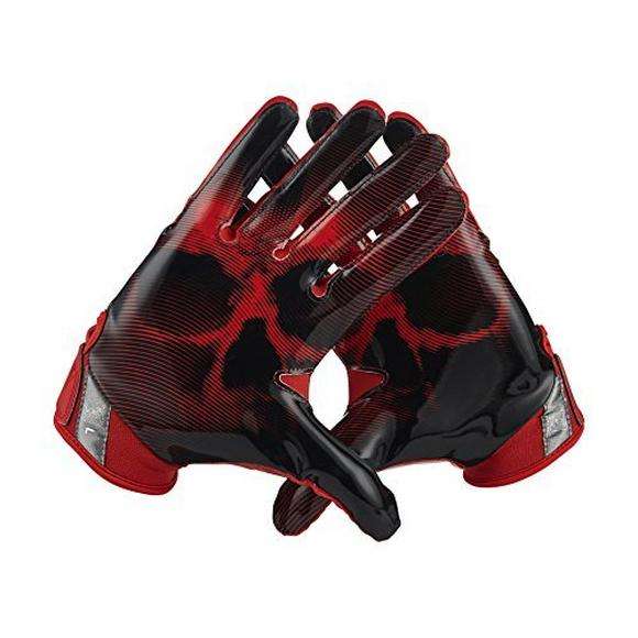 premium selection 9a2ef faa21 Nike Vapor Jet 4 Men s Skull and Bones Football Gloves - Main Container  Image 1