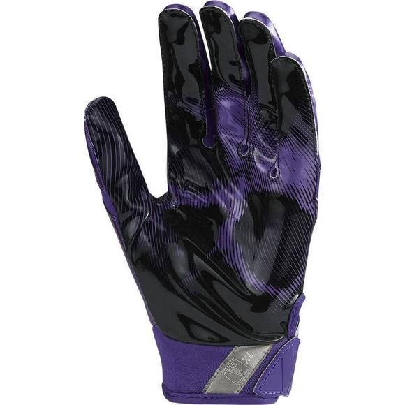 Nike Adult Vapor Jet 4.0 Receiver Gloves Purple - Main Container Image 2 06f8d67313