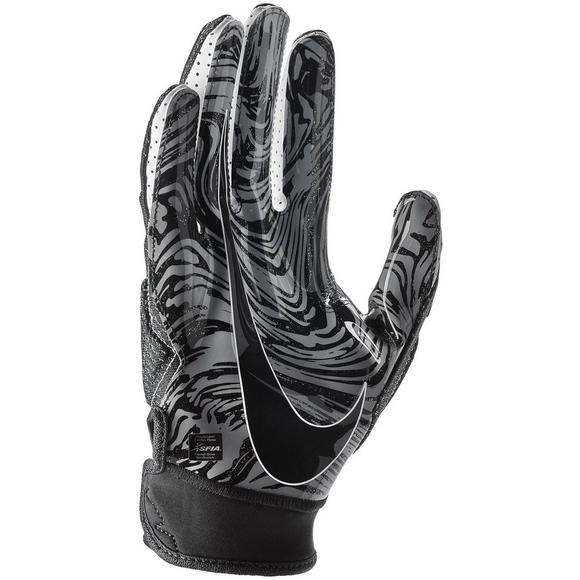 9f5695400ab Nike Superbad 4.5 White Black Football Gloves - Main Container Image 2
