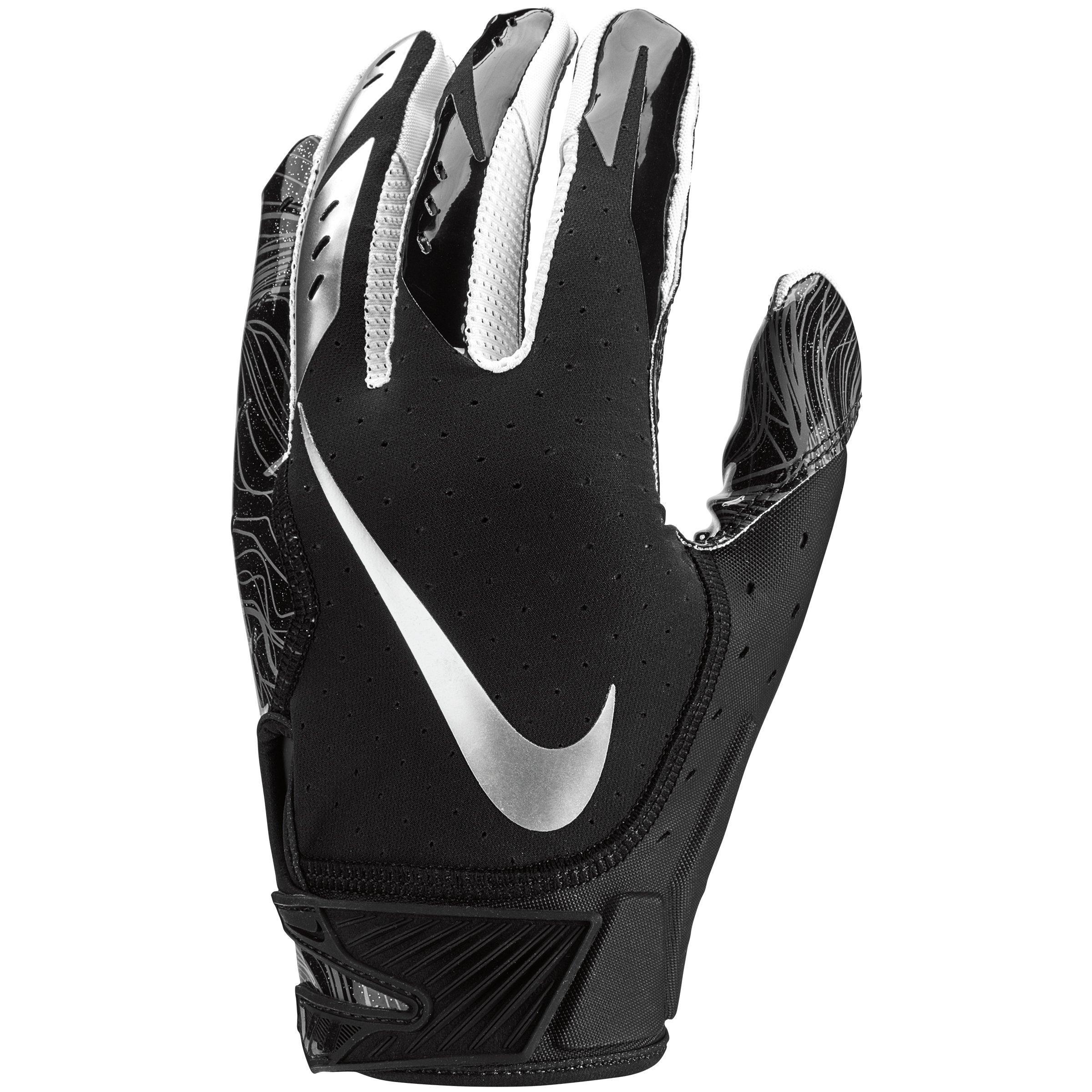 Nike Vapor Jet 5.0 Football Gloves Men/'s XL White//Team Red