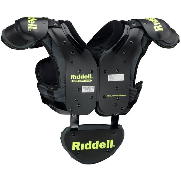 Riddell Surge Youth Shoulder Pad w Backplate - Main Container Image 2 445819fafbc0d