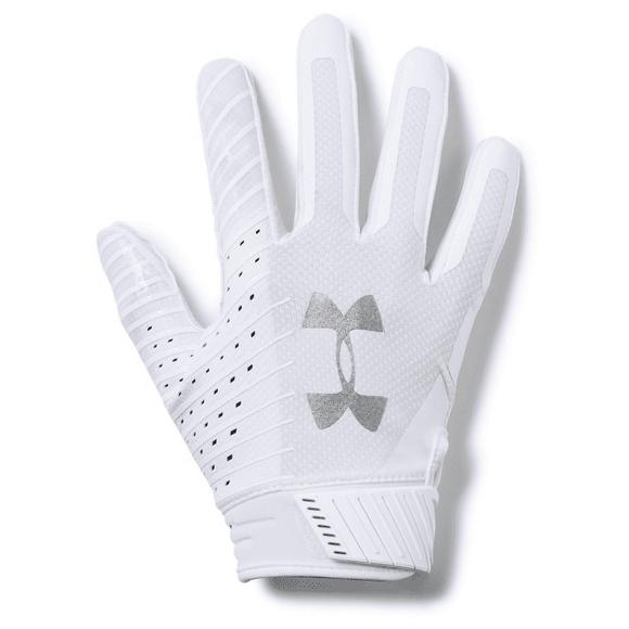 Hong Kong Becks rotación  Under Armour Adult F6 Spotlight Football Receiver Gloves - Hibbett | City  Gear