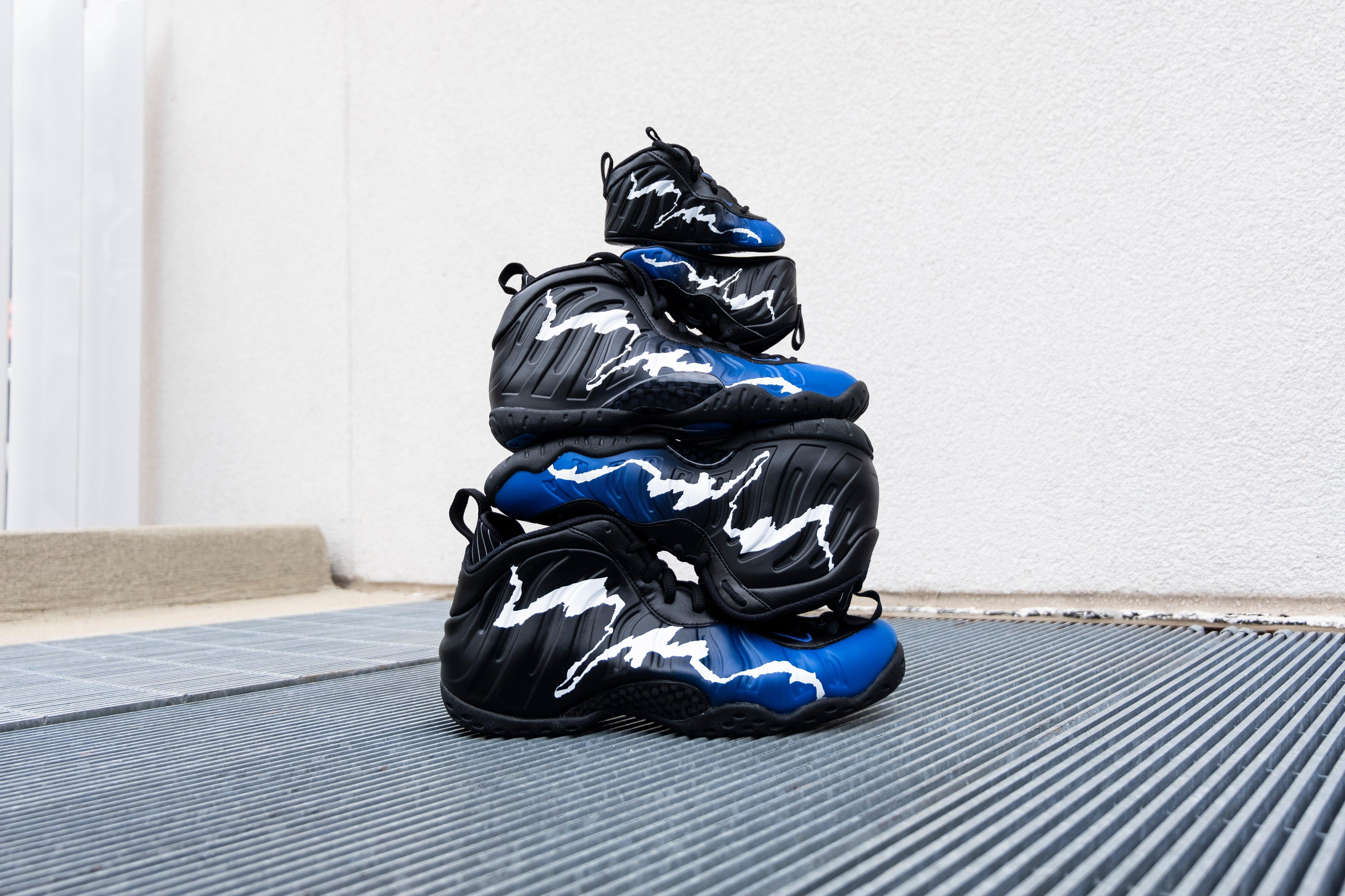 Nike Air Foamposite One Gets Covered In Mini ... Hypebeast