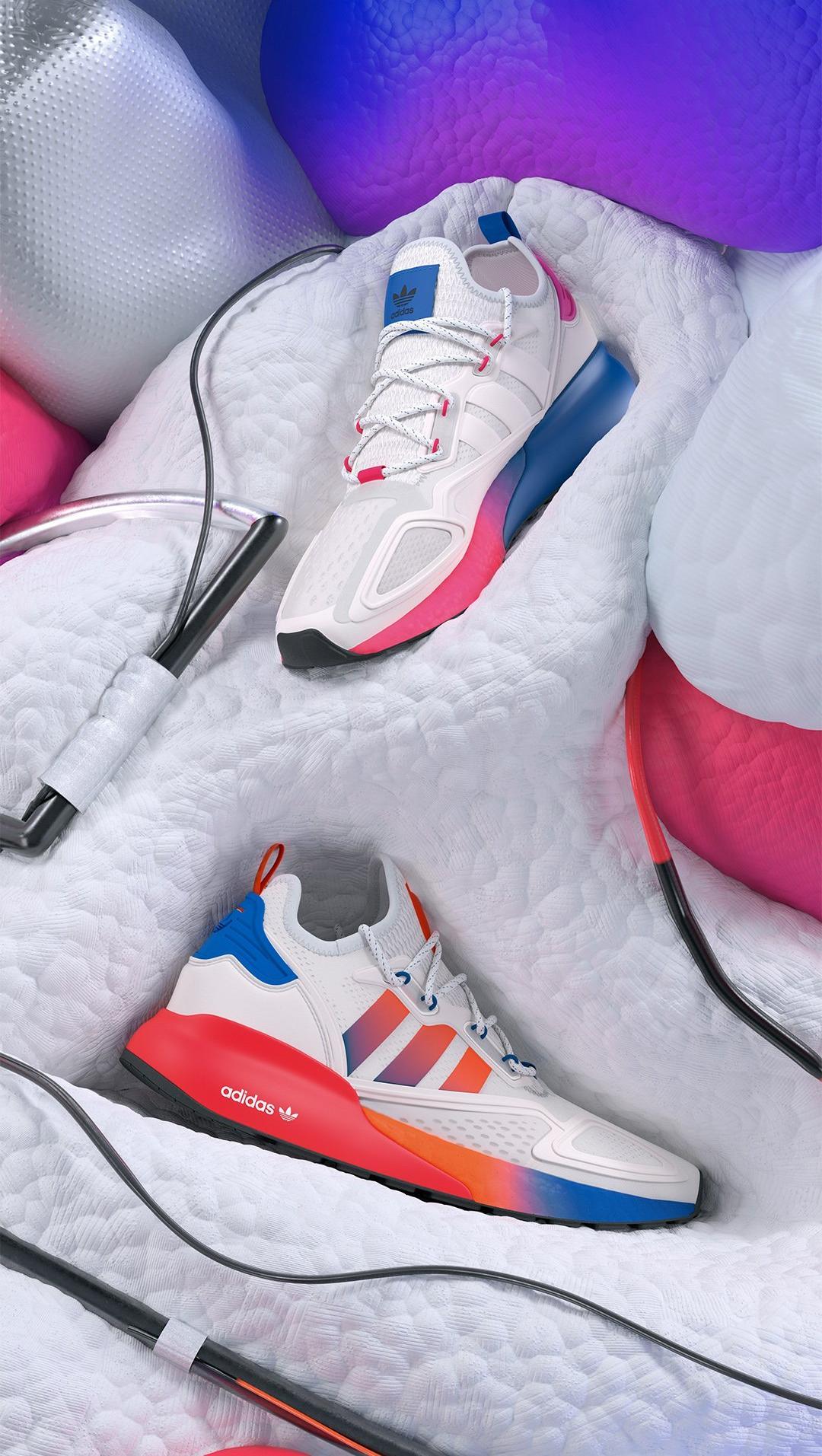 fecha límite franja A tientas  Sneakers Release – adidas ZX 2K Boost Men's, Women's and Kids' Shoes