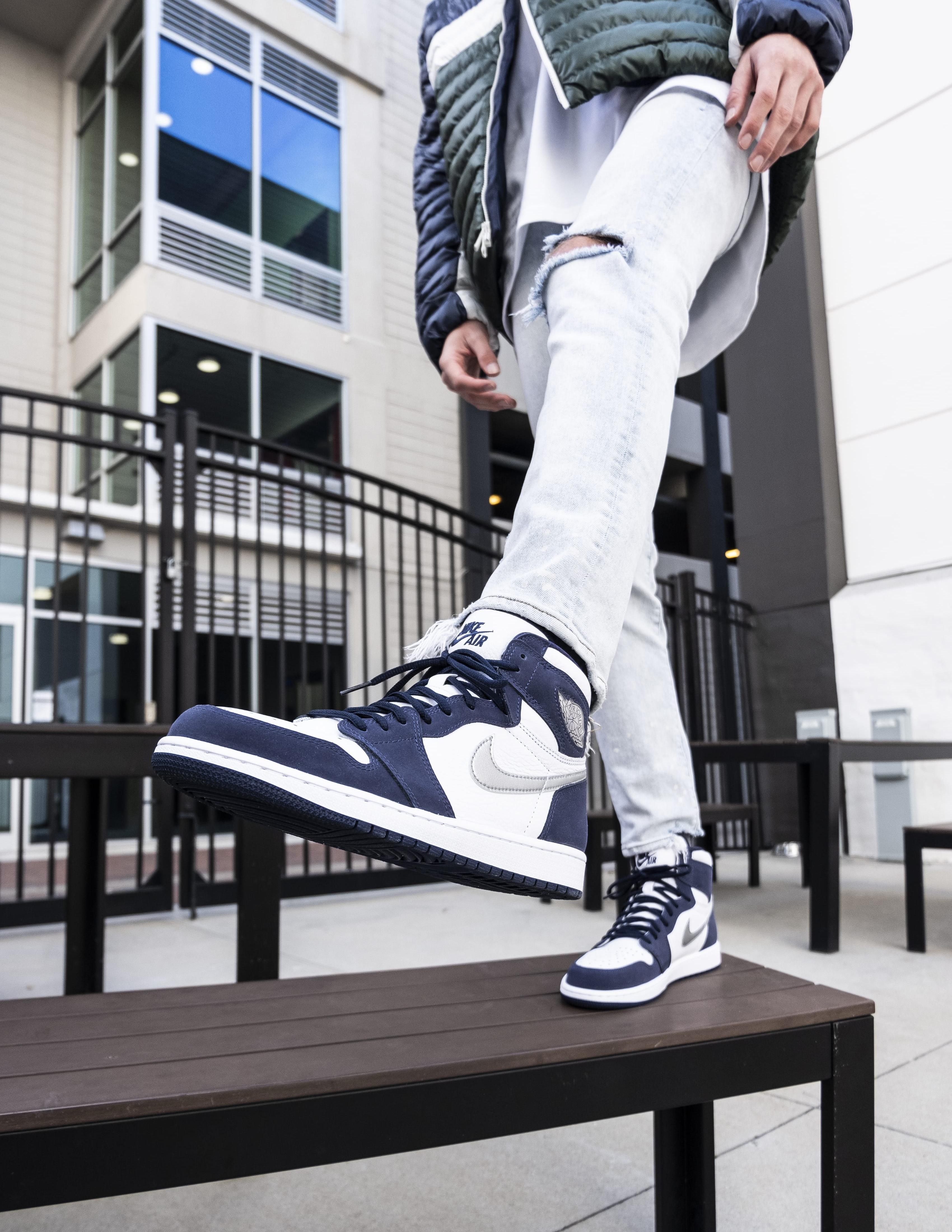 """Sneakers Release – Jordan 1 High OG CO.JP """"Midnight Navy ..."""