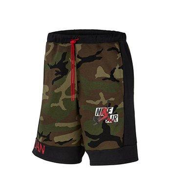 Jordan Jumpman Classics Camo Fleece Shorts