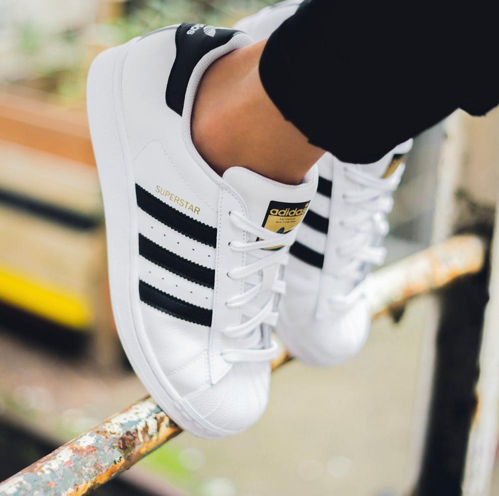 adidas Superstar Grade School Kids' Shoes