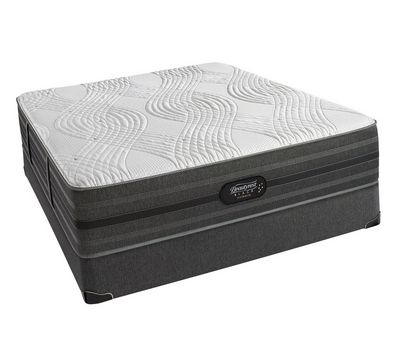 "Black Hybrid Alcove 13.5"" Plush Mattress"