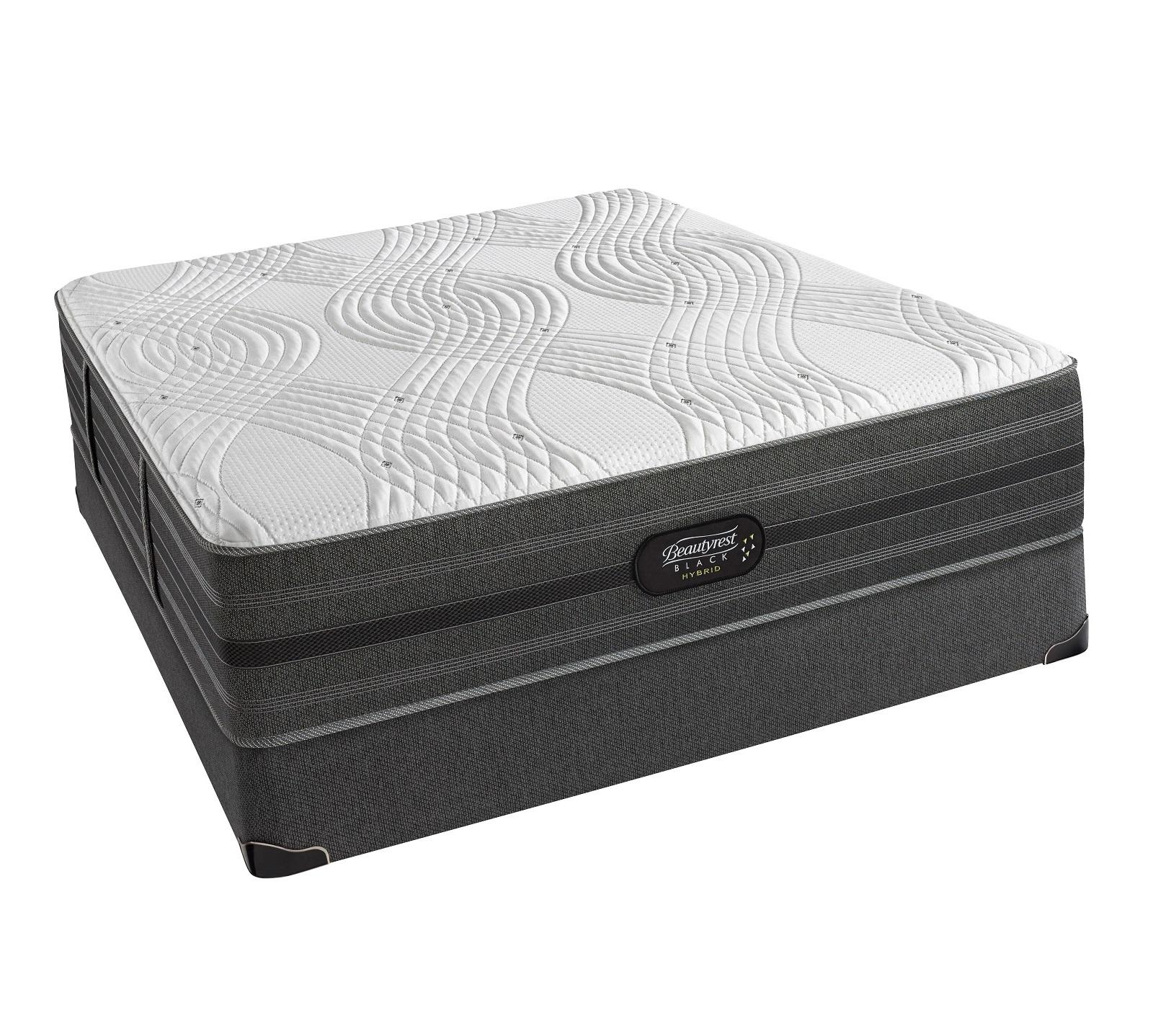 black hybrid gladney 14 luxury firm mattress