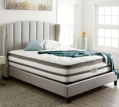 Simmons Beautyrest Recharge Bay Spring 14 Inch Luxury Firm Pillow Top Mattress