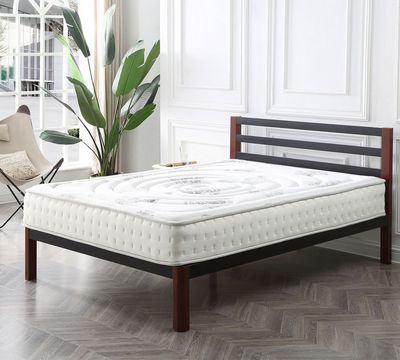 Hampton and Rhodes Decker 10.5 Inch Medium Firm Hybrid Mattress