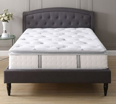 "Mercer 12"" Plush Hybrid Mattress"