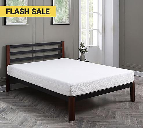 8 Medium Cool Gel Memory Foam Mattress