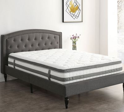 Hampton and Rhodes San Martin 12 Inch Plush Hybrid Mattress