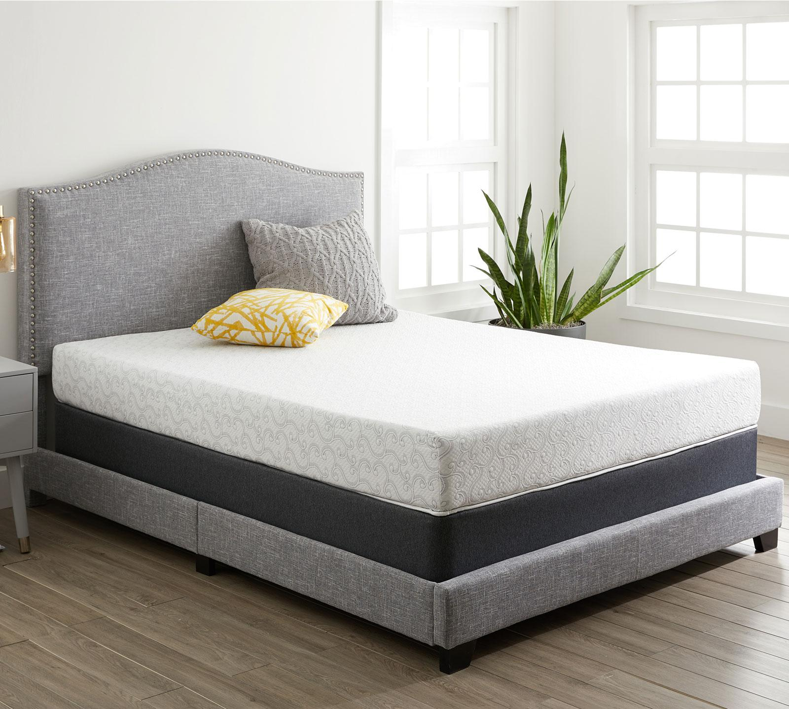 alesbury 8 plush memory foam mattress