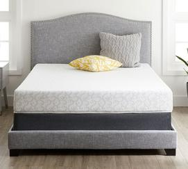 "Alesbury 8"" Plush Memory Foam Mattress"