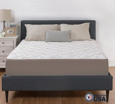 "12"" Plush Quilted Gel Memory Foam Mattress"