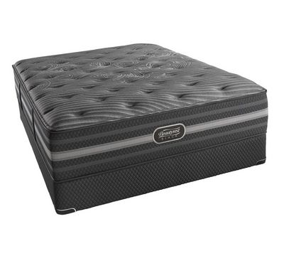 "Black Mariela 15"" Plush Mattress"