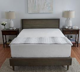 "Deluxe 14"" Medium Memory Foam Mattress"