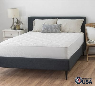 "10"" Two-Sided Plush Quilted Foam Mattress"
